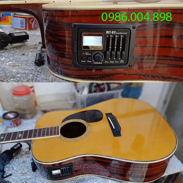 lắp eq guitar biên hòa