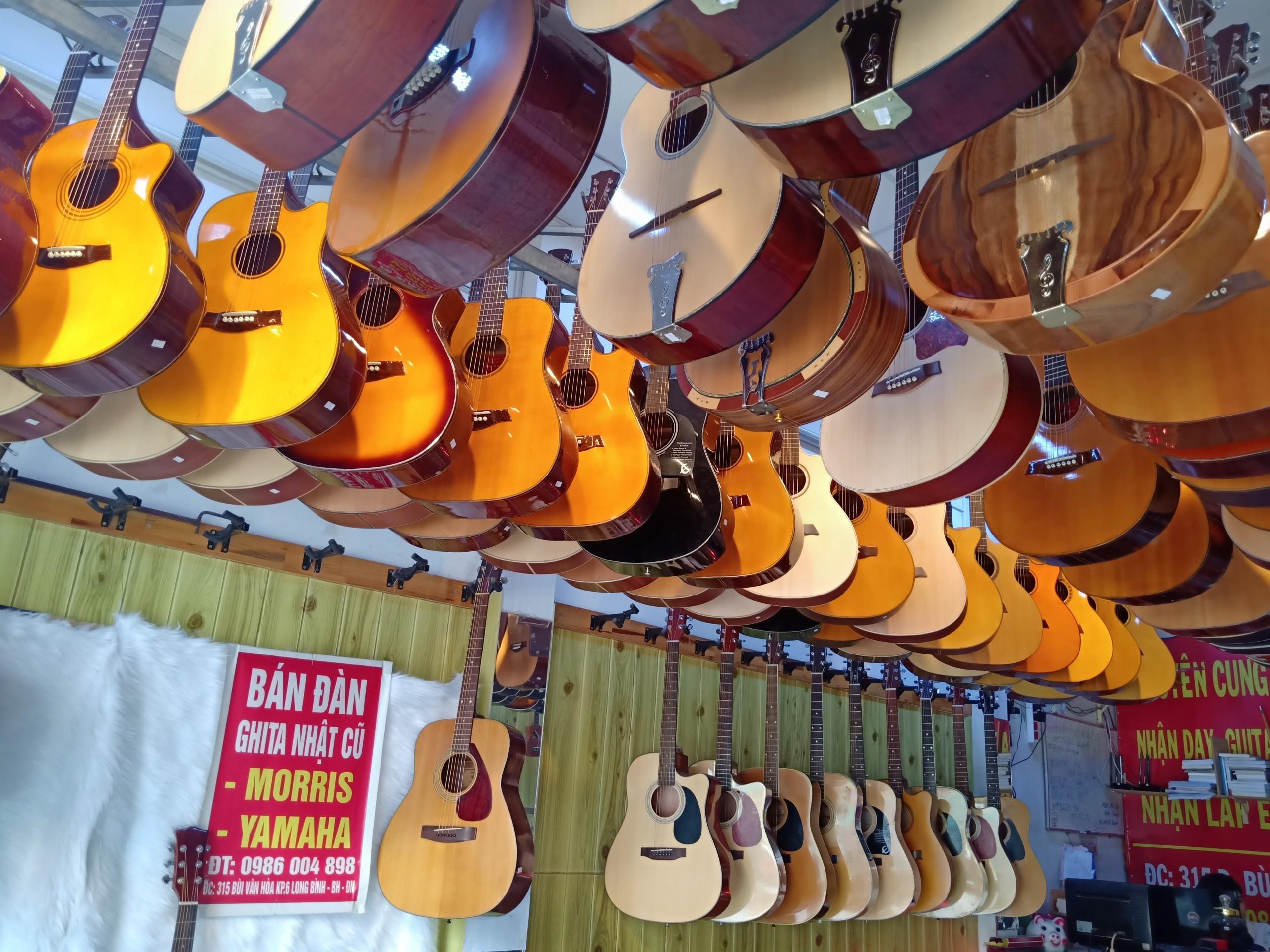 Lớp dạy đàn guitar ở tại biên hòa đồng nai