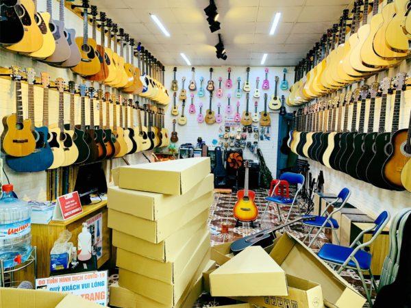 bán đàn guitar cũ biên hòa